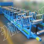 Оборудование для производства профилей различных типов, сэндвич-панелей, металлочерепицы и др.