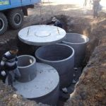 Колодцы, канализации, углубление колодцев, комплектующие материалы