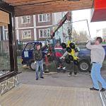 Монтаж/Замена больших стеклопакетов на фасадах, витринах