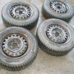 Комплект зимних колес 4 шт. на мерседес r-15