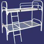 Кровати металлические со сварной сеткой для учебных заведений, интернатов, спец. школ