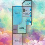 Продам Двухкомнатную квартиру в Центре! Новый дом!