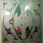 Матирование стекла без пескоструя в домашних ксловиях