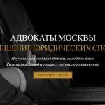 Адвокаты по уголовным делам. 20 лет практики
