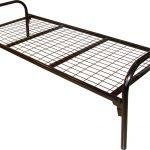 Кровать металлическая для санатория с производства