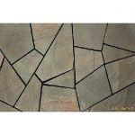 Мозаика из песчаника природного