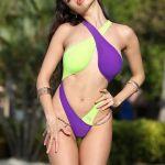 Супер модный красивый слитный купальник монокини сплошной стринги