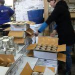 Рабочие на склад консервированной продукции
