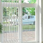 Раздвижные металлические решетчатые двери типа GRAN-эконом