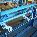 Разматыватель рулонного металла  недорогой полуавтомат