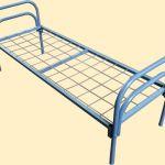Кровати металлические с царгами и спинками ЛДСП,кровати для пансионатов,детских пионерских лагер
