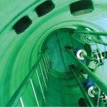 Стальные канализационные лестницы-стремянки для спуска в колодцы по ТПР 902-09-22.84