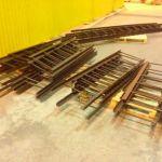 Стальные канализационные лестницы-стремянки марки С1-02 для спуска в колодцы по ТПР 902-09-22.84