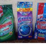 Стиральные порошки концентраты POWER WASH ORIGINAL GALLUS и др.10 кг