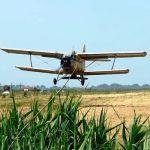 Внесение азотных удобрений сельхозсамолетами